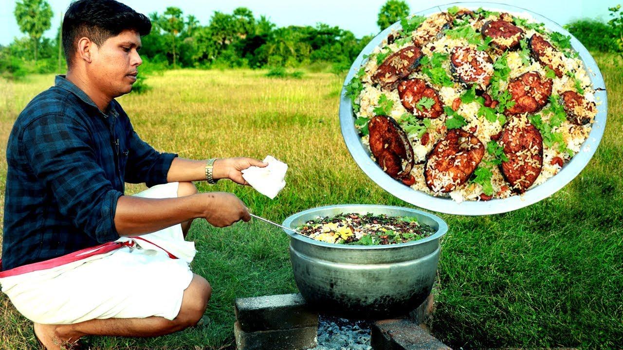KERALA STYLE FISH BIRYANI | How To Make FISH Biryani Recipe| Village Food Channel
