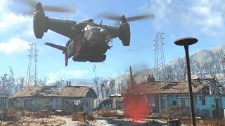 Fallout 4 Свобода действий в открытом мире HD русские субтитры
