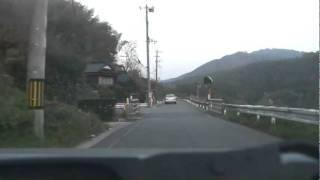 ドライブ動画 福岡県田川郡赤村~京都郡みやこ町へ 2010.11.21. ‐1