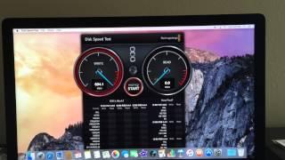Imac 5K retina 3tb fusion drive speed test
