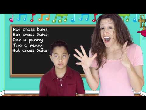 Hot Cross Buns Children Song | Nursery Rhymes for kids | Lyrics | Patty Shukla with recorder