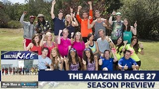 Amazing Race 27 Season Preview LIVE | Thursday, Sept 17, 2015
