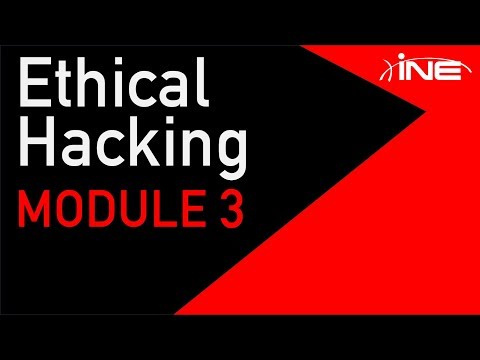 Certified Ethical Hacker (CEH) Module 3 :: Scanning Networks