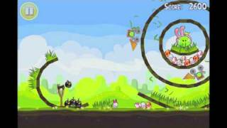 Angry Birds Seasons Easter Eggs Golden Egg #17 Walkthrough