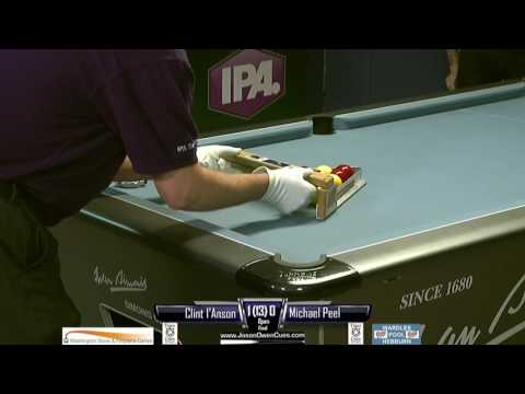 IPA Tour Newcastle Upon Tyne:  I'Anson v Peel: Final