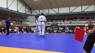 2018年9月30日 第14回福島県大会 一般男子重量級 決勝