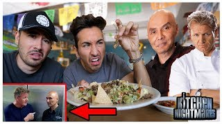 Eating At Gordon Ramsay's Kitchen Nightmares Restaurant (1 STAR)