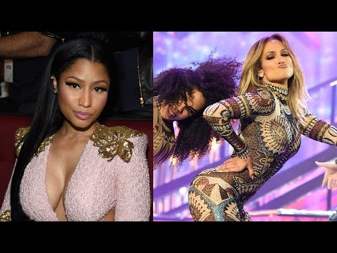Nicki Minaj Responds To Whether Or Not She Shaded J.Lo At 2015 AMAs