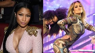 Nicki Minaj Responds To Whether Or Not She Shaded J.Lo At 2015 AMAs thumbnail