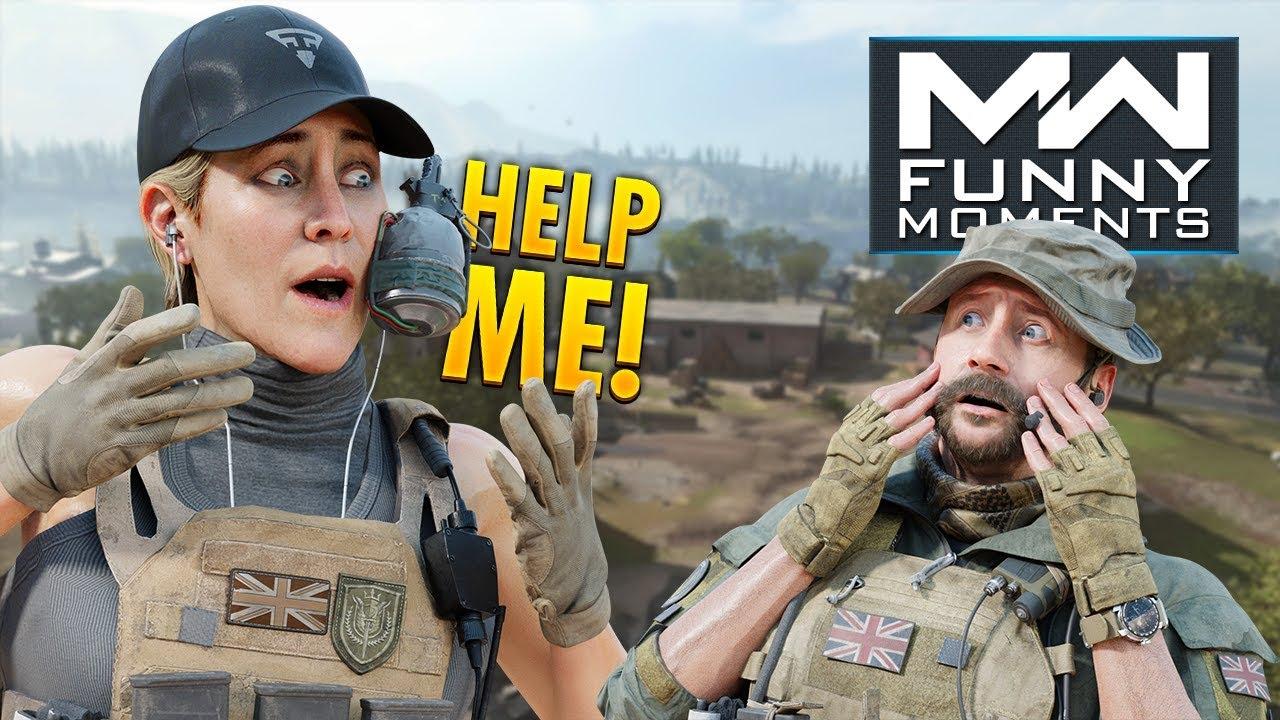 COD Modern Warfare - Funny Moments #62