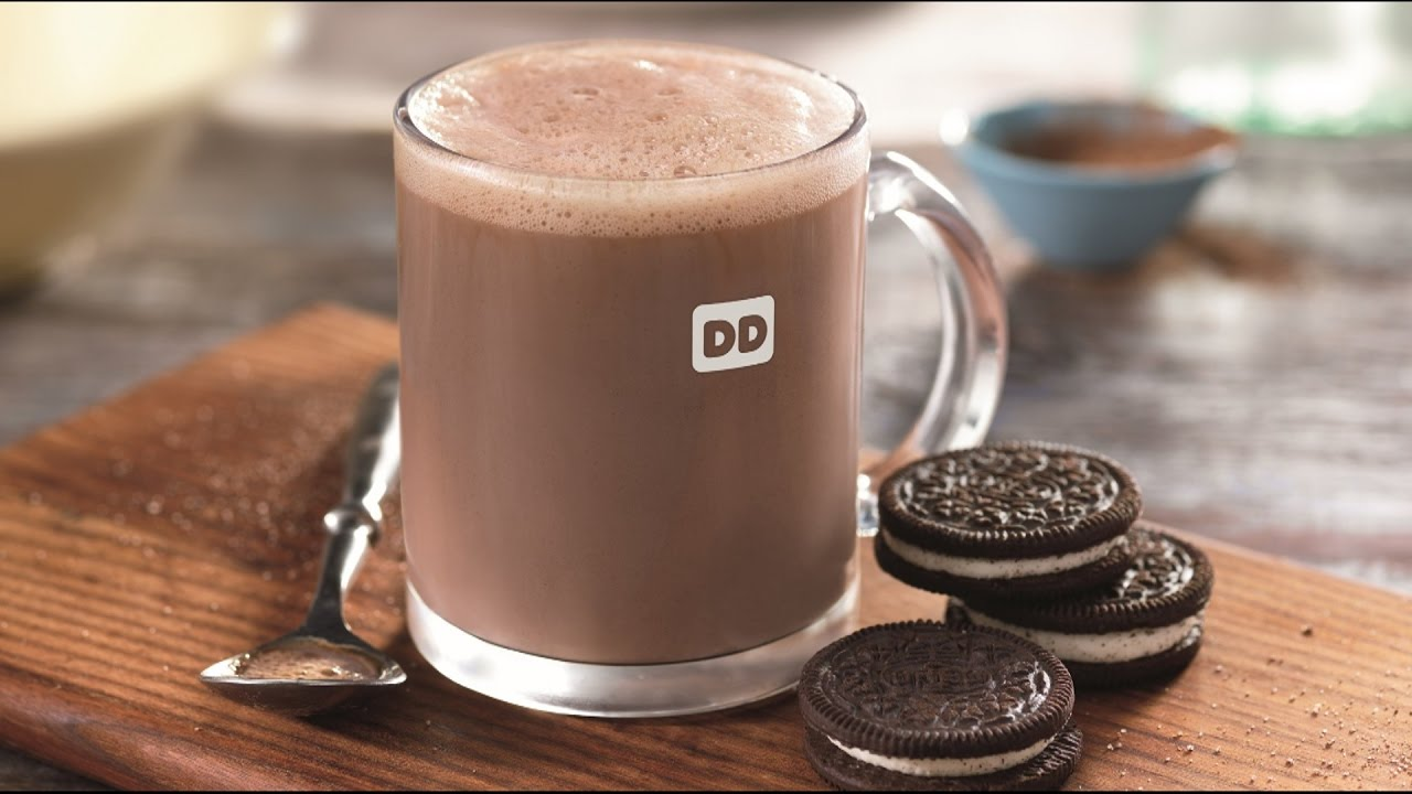Dunkin Donuts Oreo Hot Chocolate Review Carbs