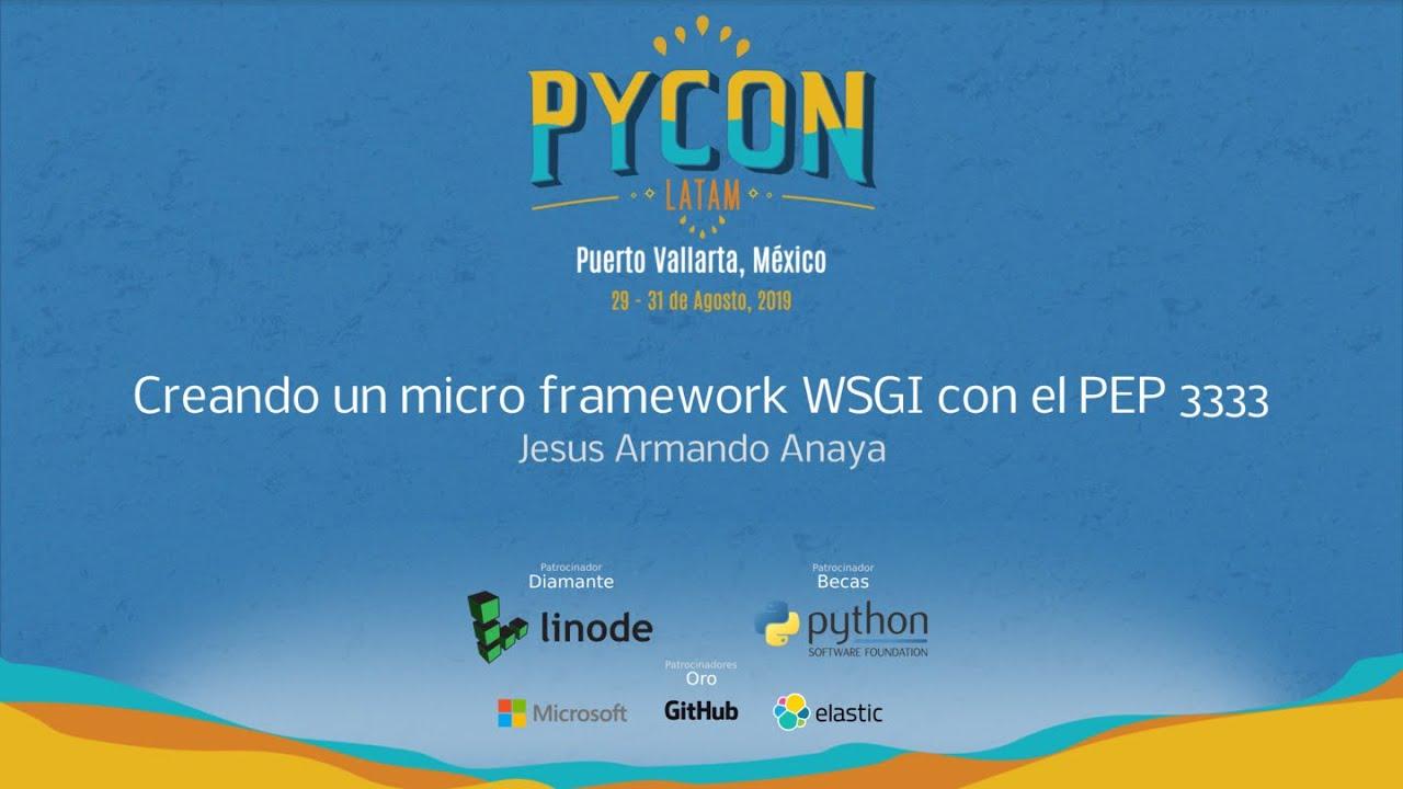 Image from Creando un micro framework WSGI con el PEP 3333