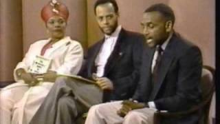 Shahrazad Ali on Donahue Show (1990) PART 2 of 4