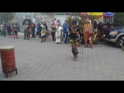 Danza Azteca honor Santa Inés en Tlaxcala 2020 1/3 parte