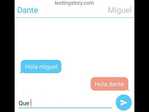 Miguel regaña a dante chat