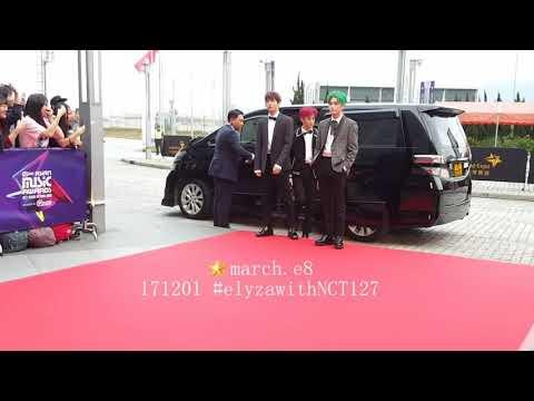171201 MAMA2017 Red Carpet Runway - NCT127