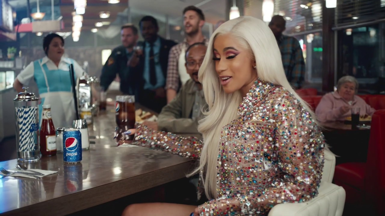 Cardi B S Second Pepsi Commercial Watch Billboard