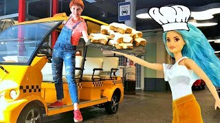 Играем в повара - Маша Капуки и Барби Фашионистас.