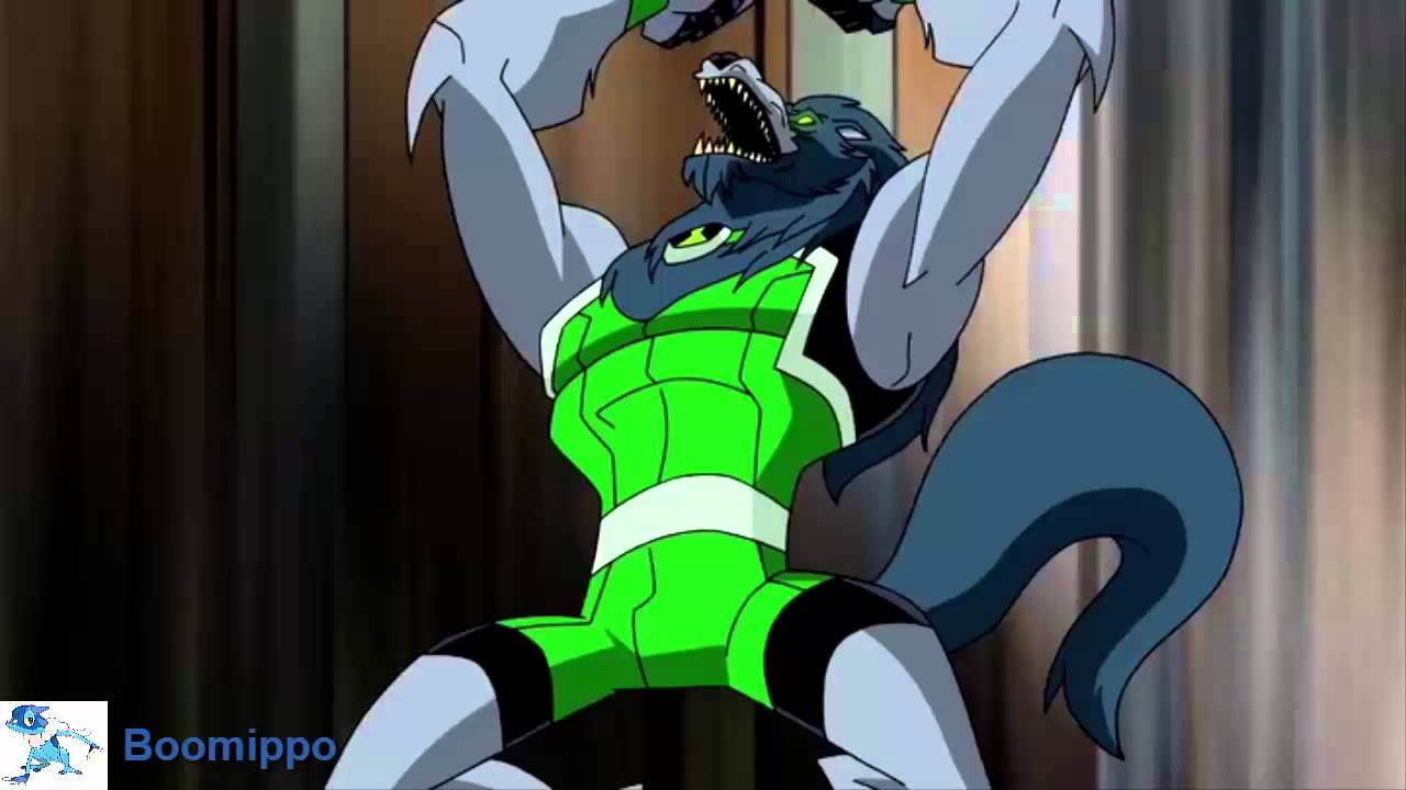 Ben 10 Omniverse : Blitzwolfer Transformation - YouTube