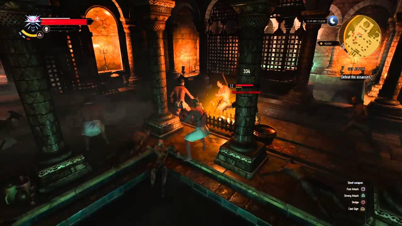 Witcher 3 bath house