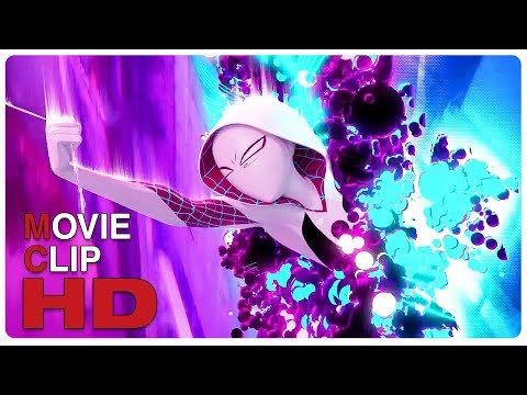 Peter & Gwen Sucked Out Of Multiverse Scene | SPIDER-MAN: INTO THE SPIDER-VERSE (2018) Movie CLIP HD
