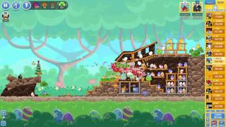 Angry Birds Friends Easter Tournament ● LEVEL 4 ● 170 K HD ● Week 202 ●  POWER UP