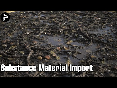 Realistic Substance Materials Import + Material Painting - Unreal Engine 4