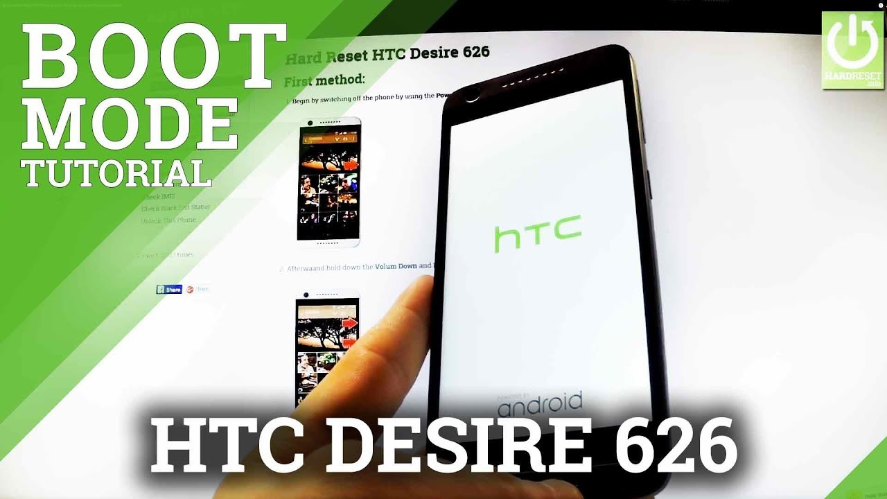 Bootloader Mode HTC Desire 626 - How to Enter and Quit Bootloader