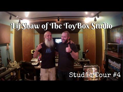 Lij Shaw of The Toy Box Studio   Studio Tour #4