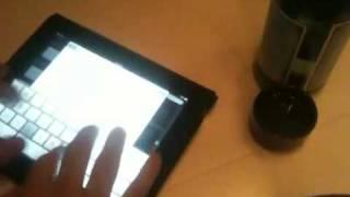 Super fast iPad typist + Link to get free iPad