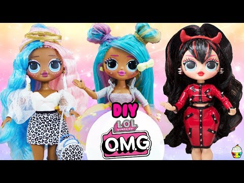 lol-omg-diy-compilation-omg-sugar,-spice,-bon-bon-big-sister-makeovers
