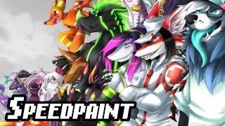 Repeat youtube video ✎ Lapfox Trax [Speedpaint]