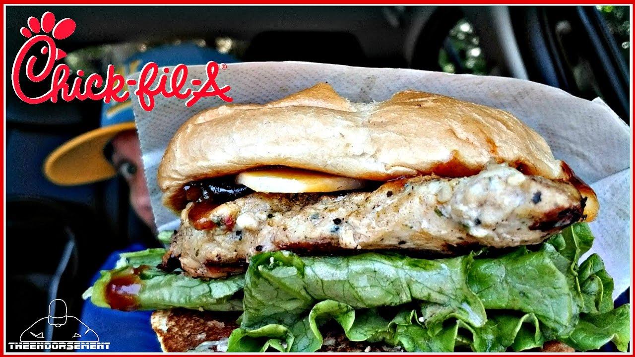 Chick Fil A Smokehouse Bbq Bacon Sandwich Review Youtube