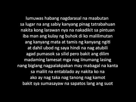 MAGDA (Gloc 9   Magda ft  Rico Blanco LYRICS)