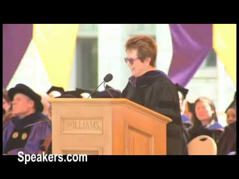 Billie Jean King Commencement Speech