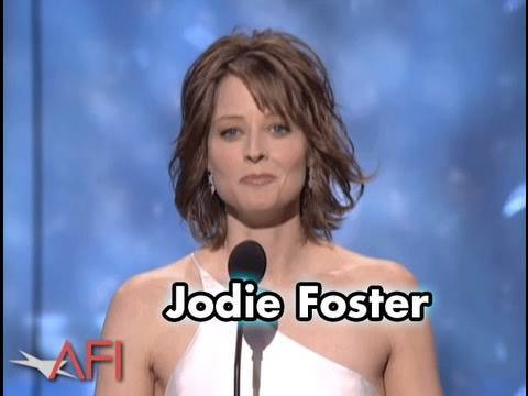 Jodie Foster Salutes Robert De Niro at AFI Life Achievement Award