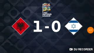 Albania vs Israel 1-0 (National teams)