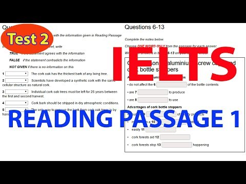IELTS READING PRACTICE TEST WITH ANSWER | IELTS READING TEST 2