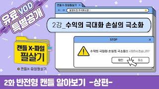 [주식 기초강의] 반전형 캔들 알아보기 -상편- l 윤…