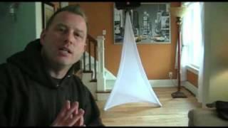 Brian looks at Scrim-King Speaker Stand & Tripod Covers