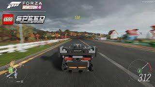 Forza Horizon 4 LEGO McLaren Senna - Unlocking and Gameplay [4K]