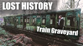 Abandoned Train Graveyard - AMAZING FIND -