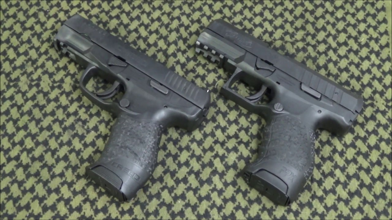 Walther Creed vs Walther PPX