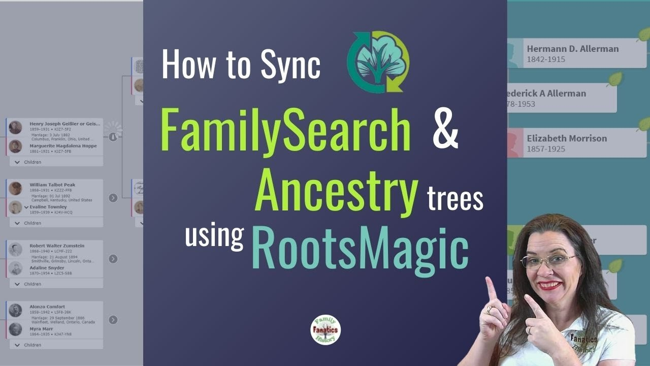 Download RootsMagic 8: How to Sync Ancestry and FamilySearch Family Trees