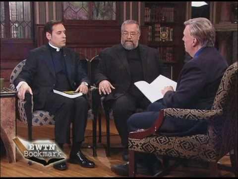 EWTN Bookmark - Saints for Dummies - Doug Keck w Fr Trigilio and Fr Brighenti - 11-07-2010