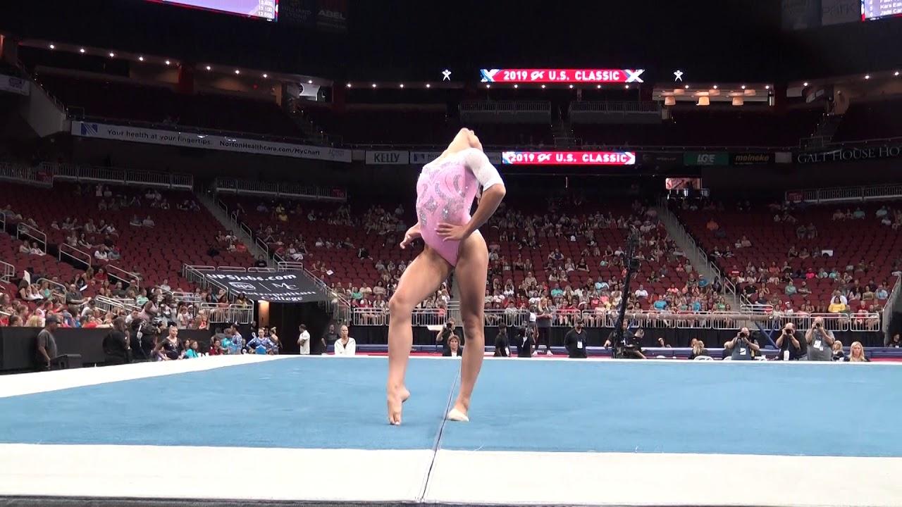 Grace McCallum – Floor Exercise – 2019 GK U.S. Classic ...
