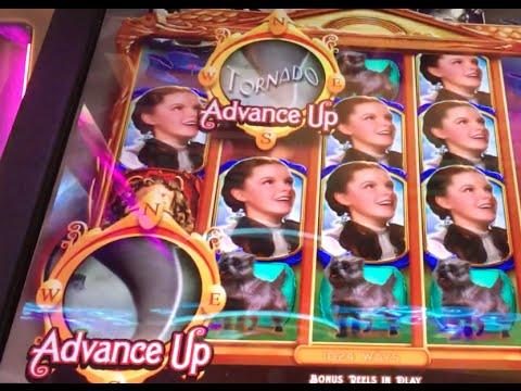 *NEWish* Wizard of Oz ✦LIVE PLAY✦ Not in Kansas Anymore  Slot Machine in Las Vegas WOZ