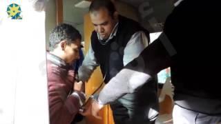 بالفيديو : أمن مطروح يدفع بقافلة طبية لعلاج المحجوزين