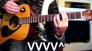 Танго - (Tango) Как играть Гитарный Бой