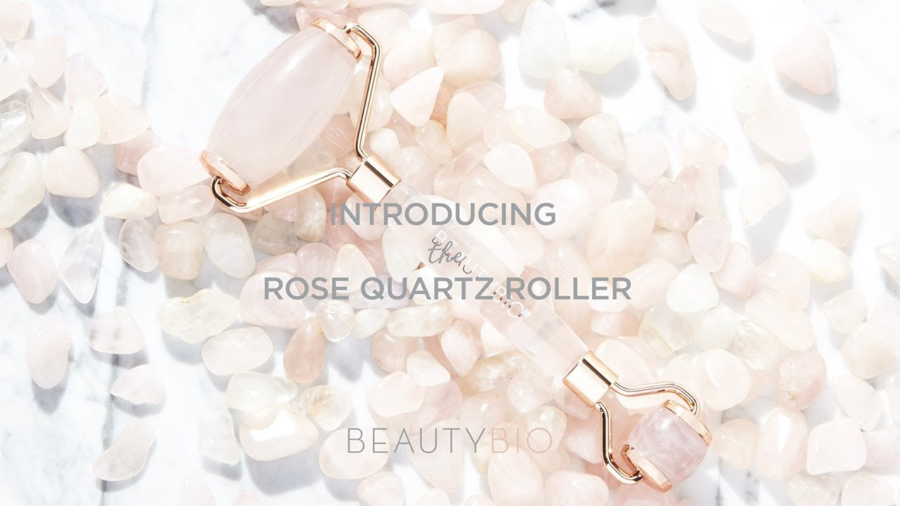 How To Use A Rose Quartz Roller Youtube